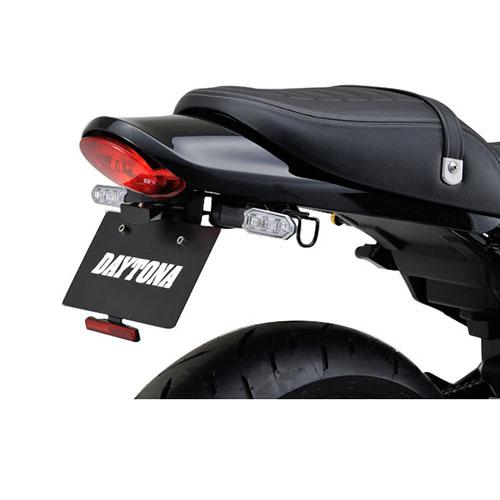 - 98049 フェンダーレスキット 贈与 車検対応LEDライセンスランプ付き Z900RS CAFE 用 デイトナ 18 超安い DAYTONA 1セット