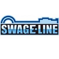 取寄 STFB752M フロントホースキット ステン/ブラック KSR110 PRO 14- SWAGE-LINE(スウェッジライン) 1本