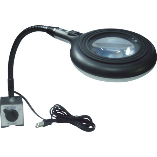 取寄 LED6300 ノガLEDスタンド拡大鏡付LEDドーナッツ ノガ・ウォーターズ 1台