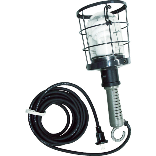 取寄 CWF-10D 防雨型蛍光灯ハンドランプ 単相100V 10W 電線10m付 ハタヤリミテッド 1台