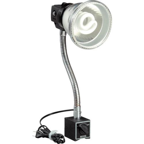 取寄 MF-15M 蛍光灯マグスタンド 18W蛍光灯付 電線1.6m マグネットスタンド付 ハタヤリミテッド 1台