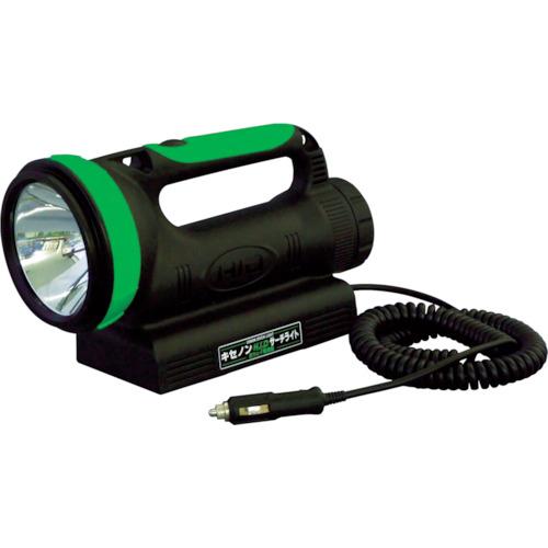 取寄 HIDL-35W-BA 懐中電灯 スーパーサーチライト(HID) 充電式35Wキセノン球 日動工業 1個