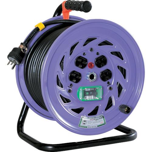 取寄 NF-EB230-15A 電工ドラム 単相200Vドラム アース漏電遮断器付 30m 日動工業 1台