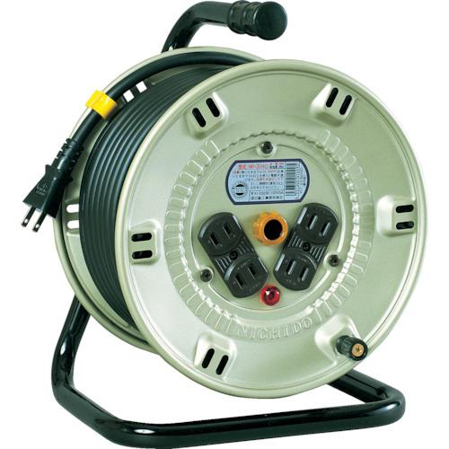 取寄 NP-304D 電工ドラム 標準型100Vドラム 2芯 30m 日動工業 1台