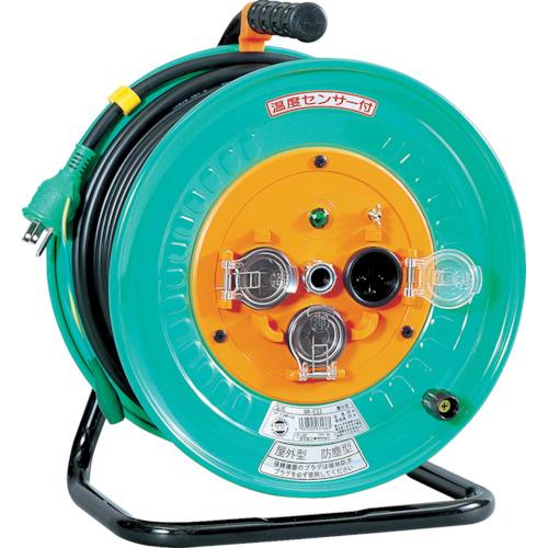 取寄 NW-E33 電工ドラム 防雨防塵型100Vドラム アース付 30m 日動工業 1台