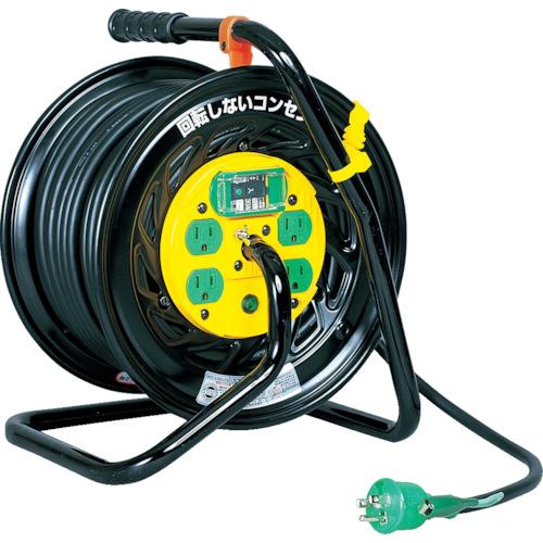 取寄 Z-EB34 電工ドラム マジックリール 100V アース漏電遮断器付 30m 日動工業 1台