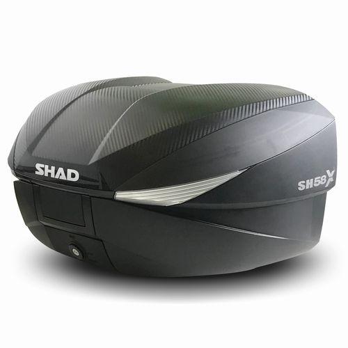 D0B58206 SH58X トップケース カーボン SHAD(シャッド) カーボンブラック 1個