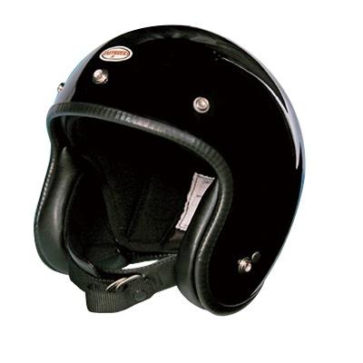 ジェットタイプ 9816-BK 70s スモールヘルメット ブラック EASYRIDERS(イージーライダース) ブラック 1個
