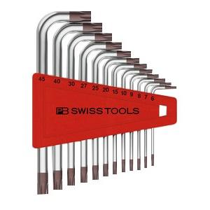 取寄 PB 1セット 410H6-45CN SWISS L型ヘクスローブレンチセット(12本組) TOOLS(ピービースイスツール)