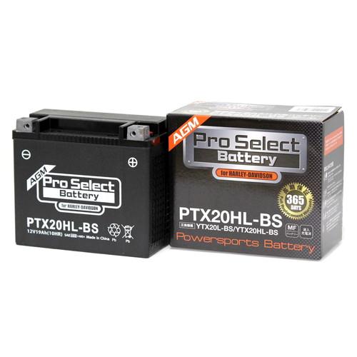 液入メンテナンスフリーバッテリーです バッテリー液の注入 発売モデル 補充は不要です イチバの日 ポイント最大19.5倍 Pro Select プロセレクトバッテリー PTX20HL-BS Battery バイク メンテフリー 日本未発売 密閉型MFバッテリー