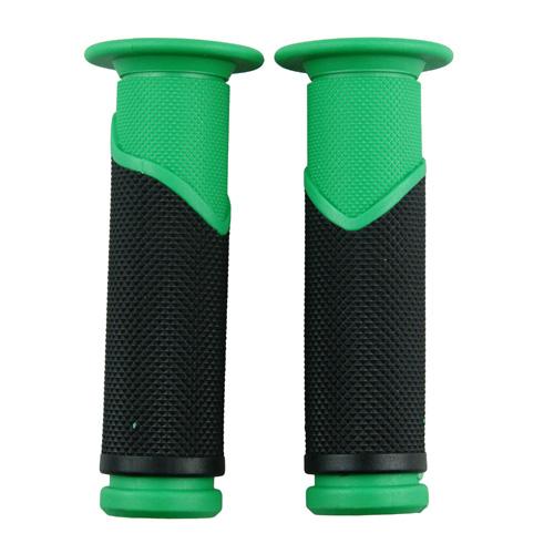 ハンドルグリップ TPE グリーン 120mm 1セット【あす楽対応】