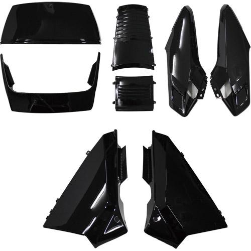 フュージョン フュージョン MF02 外装8点セット EnergyPrice(エナジープライス) ブラック 1セット