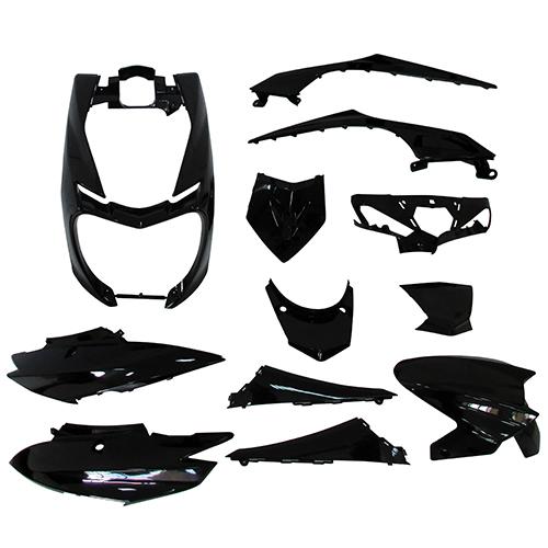 シグナス 外装12点セット シグナスX 4型 2UB ブラック スーパーバリュー ブラック 1セット(12セット入)