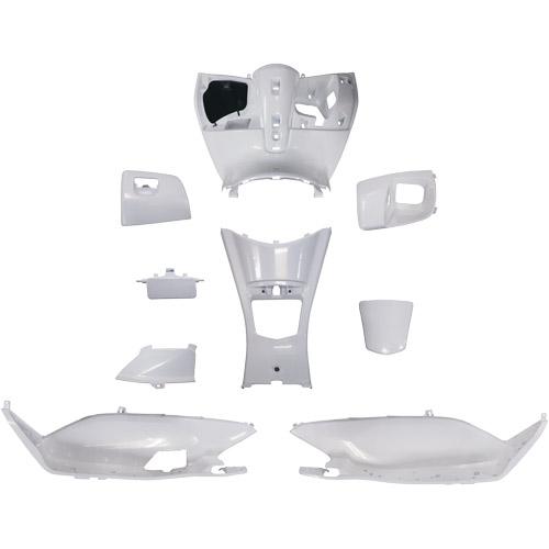 PCX PCX JF28 塗装済インナーカウル 9点セット ホワイト スーパーバリュー ホワイト 1セット