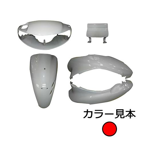 取寄 ライブDio R-201 外装5点セット ライブディオ(AF35) I型 マグナレッド(R-201) EnergyPrice(エナジープライス) マグナレッド 1セット