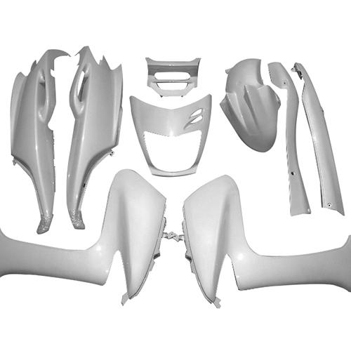 取寄 マジェスティ 外装9点セット マジェスティ125(SE2) パールホワイト スーパーバリュー パールホワイト 1セット