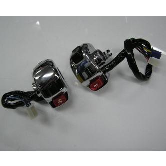 KN企画 メッキスイッチ+レバーセット 汎用工夫が必須 メーカー品番:G19-SET 1個