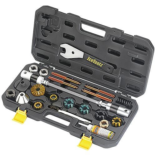 IceToolz E185 BB&ヘッドチューブフェーシングツール メーカー品番:E185 1セット