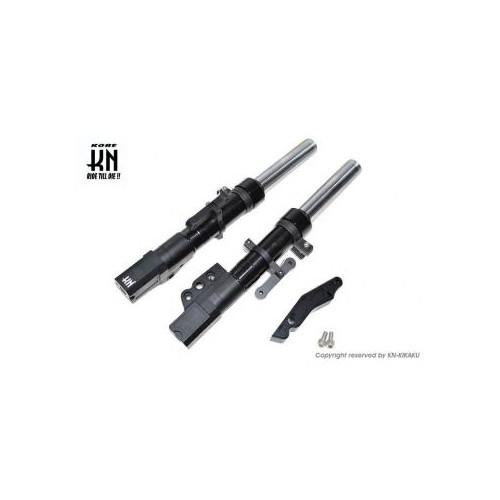 取寄 KN-C4-26F4P-BK スーパーフロントフォーク [ブラック] シグナスX [4型] 260mm/4potキャリパー KN企画 ブラック 1個