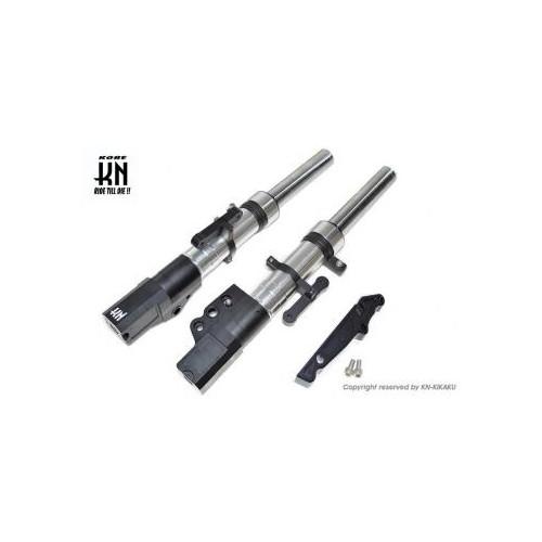 取寄 KN-C4-26FS-SV スーパーフロントフォーク [シルバー] シグナスX [4型] 260mm/STDキャリパー KN企画 シルバー 1個