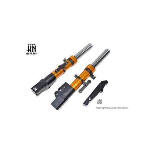 取寄 KN-C4-26FS-GD スーパーフロントフォーク [ゴールド] シグナスX [4型] 260mm/STDキャリパー KN企画 ゴールド 1個