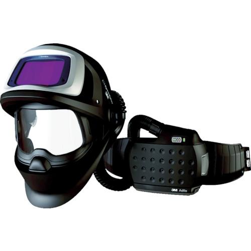 取寄 547725J アドフロー 電動ファン付き呼吸用保護具(自動遮光溶接面付き) 3M(スリーエム) 1個