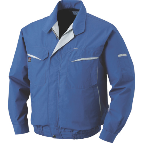 つなぎ・作業着 K-500N-C04-S7 混紡 電池ボックスセット ブルー 5L 空調服