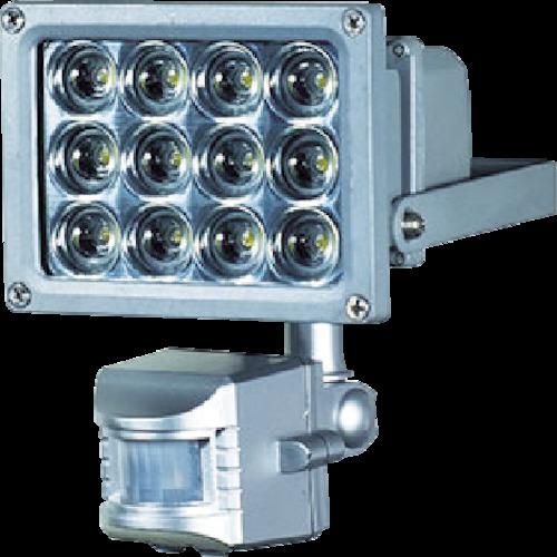 防犯・防災用品 SLS-12P LEDセンサーライト 12W 日動工業