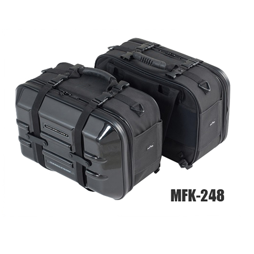 取寄 MFK-248 ツアーシェルケース2 MFK-248 TANAX(タナックス) ブラック 1個