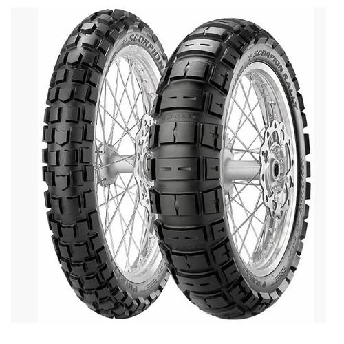 バイクタイヤ 2068200 SCORPION RALLY 110/80-19 M/C F 59R TL M+S PIRELLI[ピレリ]