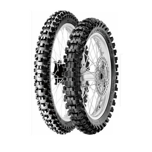 バイクタイヤ 1767700 SCORPION XC MID SOFT 110/100-18 R 64M WT NHS PIRELLI[ピレリ]