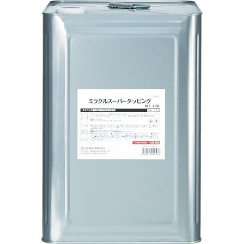 取寄 S-029 ミラクルスーパータッピング18L 鈴木油脂 褐色透明 1缶
