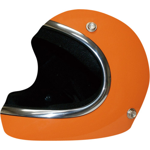 取寄 フルフェイスタイプ アキラ オレンジ L DAMMTRAX(ダムトラックス) オレンジ 1個