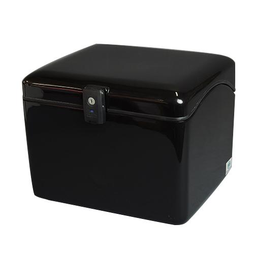 【送料無料】JMS[ジェイエムエス] NEWラゲージBOX L ブラック 標準仕様[鍵番号共通タイプ] メーカー品番:B-26B 1個
