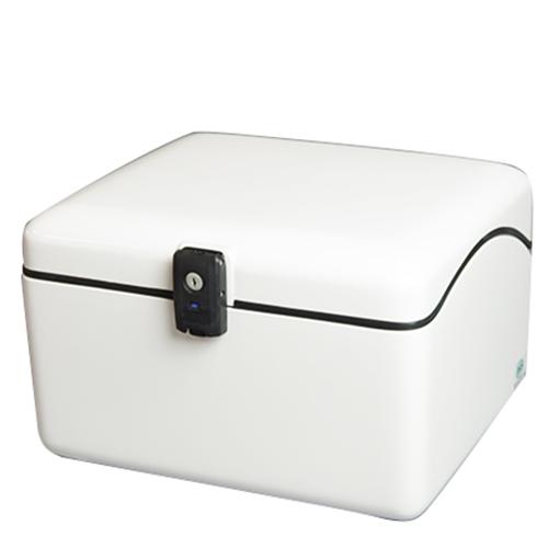 【送料無料】JMS[ジェイエムエス] NEWラゲージBOX S ホワイト セキュリティー仕様[鍵番号違いタイプ] メーカー品番:B-28WSL 1個