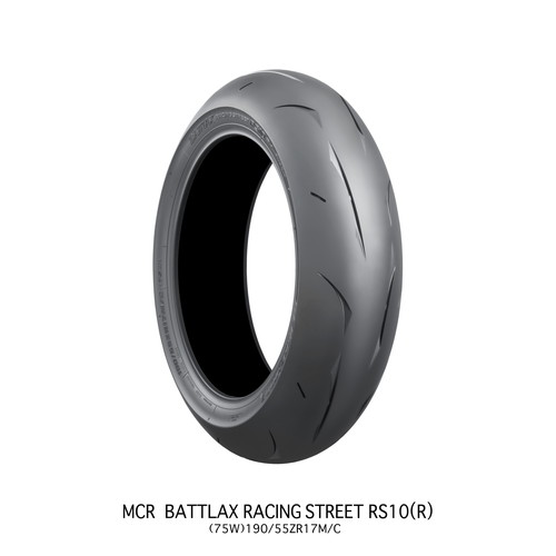 チューブレスタイプ MCR05125 BATTLAX RACING STREET RS10 140/70R17RM/C54H TL BRIDGESTONE(ブリヂストン) 140/70-17 1本