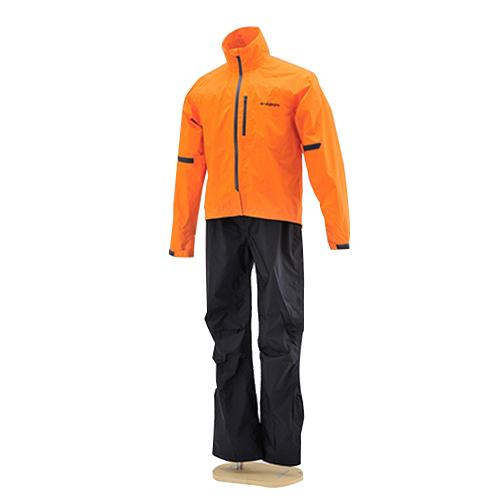 取寄 96771 HR-001 マイクロレインスーツ オレンジ M HenlyBegins(ヘンリービギンズ) オレンジ 1着