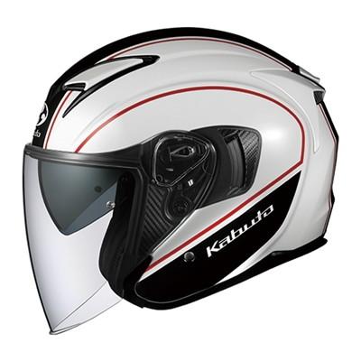 ヘルメット EXCEED DELIE(エクシード デリエ) ホワイトブラック S OGK[オージーケーカブト]