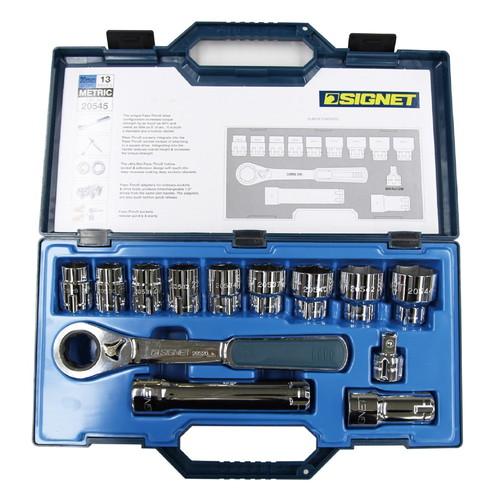 史上一番安い ソケット 20545 ソケット 20545 13PC SIGNET[シグネット] ボルテックスソケットセット(差込角30MM) SIGNET[シグネット], クラブステーション:ec6c8486 --- business.personalco5.dominiotemporario.com