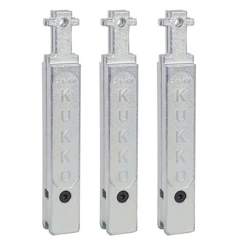 プーラー・圧入工具 2-V-150-S 30-2・30-20用延長アーム150mm(3本組) KUKKO