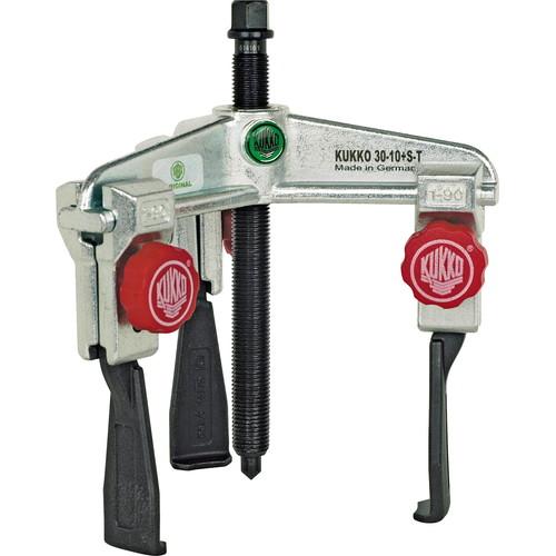 プーラー・圧入工具 30-1+S-T 3本アーム超薄爪プーラー クイック 30-1+S-T KUKKO