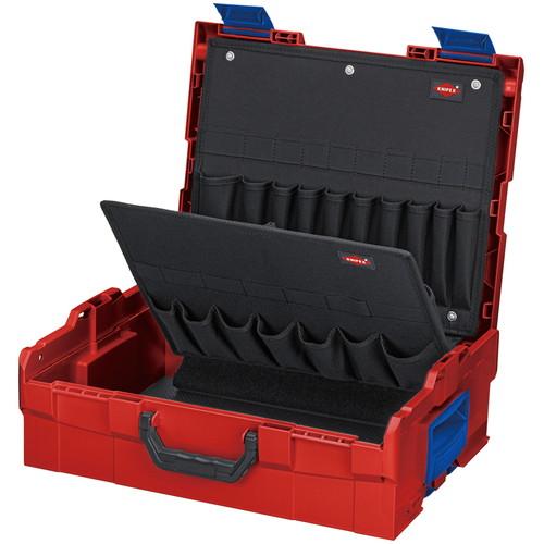 002119LB ツールボックス L-Boxx KNIPEX(クニペックス) 外寸(mm):W442×H151×D357内寸(mm):W375×H107×D311 1個