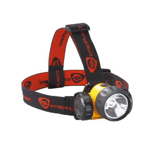 取寄 61200 ハズロ 1W LEDヘッドランプ(イエロー) UL STREAMLIGHT(ストリームライト) 1個
