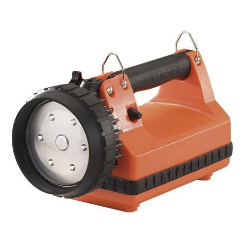 取寄 45810 Eフラッド ライトボックス 非常灯付(オレンジ) STREAMLIGHT(ストリームライト) 1個