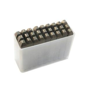 取寄 SKC-20 逆英字刻印セット 2mm TRUSCO(トラスコ) 1セット