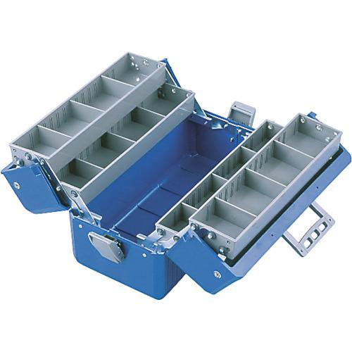 工具箱・ツールバッグ B-56-B B-56-B ツールボックス ボックスマスター 青 HOZAN[ホーザン]