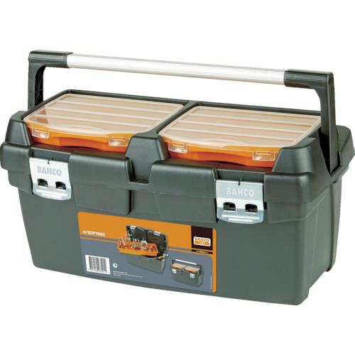 取寄 4750PTB60 ヘビーデューティー仕様プラスチックボックス BAHCO(バーコ) 黒/オレンジ 1個