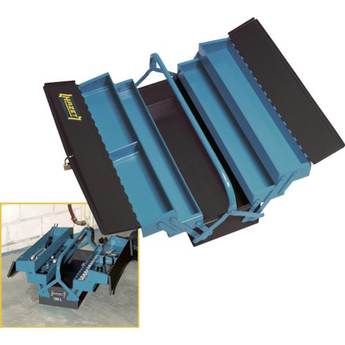 最も優遇の 工具箱・ツールバッグ 190L 3段式ツールボックス HAZET[ハゼット], azzurri car shop:5addacf7 --- hortafacil.dominiotemporario.com