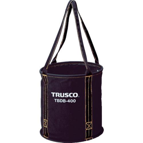 取寄 TBDB-450 大型電工用バケツ φ450×450 TRUSCO(トラスコ) ブラック 1個