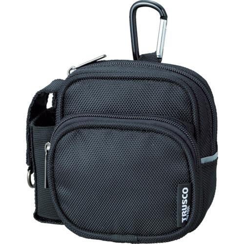 - 人気ブランド多数対象 ショッピング 取寄 TCTC1802-BK コンパクトツールケース ツーワイドポケット 1個 ブラック TRUSCO トラスコ
